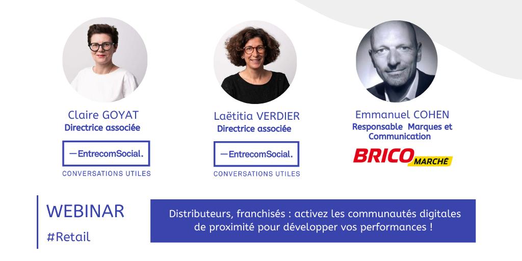 Webinar franchisés distributeurs - activation communautés locales bricomarché